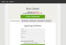 WebgalambX – előfizetéses hírlevélküldő